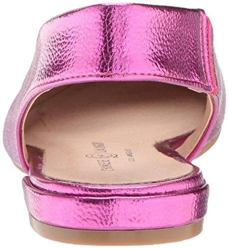 Chinese Pink Hot Laundry Flat Metallic Ballet Women's Gracias pSCg6qSw