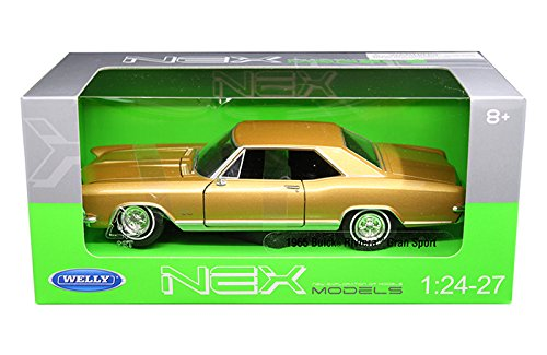 - Welly Gold 1965 Buick Riviera Gran Sport