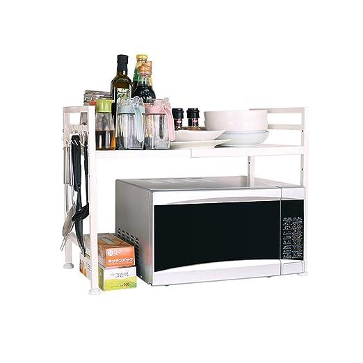 ZKKZ Horno de microondas Rack de panadería para cocinas Estante de ...