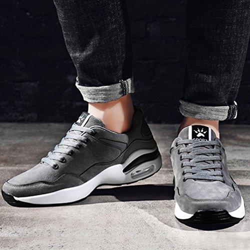 Course Sneaker D'air Antichoc Gris 44 Pied Sport Coussin Casuel Marche 39 De Homme Chaussure Avec Voyage Running Jogging wInqfU75q
