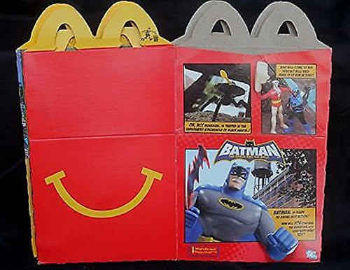 Happy Meal Collectibles (Batman: The Brave and The Bold Happy Meal boxes)