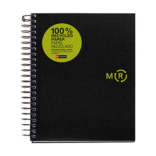 100% Recycled Wirebound Notebook - 9