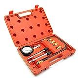 AB Tools-US Pro Petrol Engine Compression Tester Cylinder Leakage Detector 10 12 14 18mm AT351
