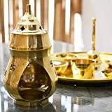 Nexplora Industries Pvt. Ltd. Brass Aroma Incense Camphor Oil Burner Diya Lamp