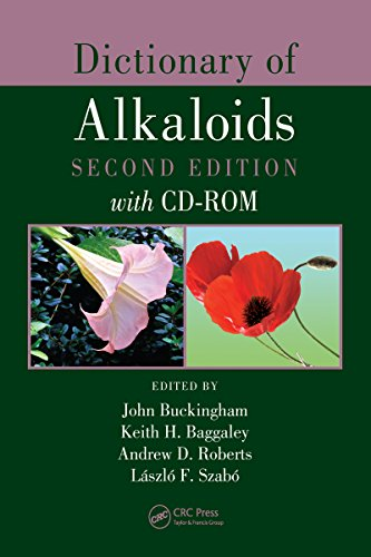 Dictionary of Alkaloids, Second Edition with CD-ROM Pdf