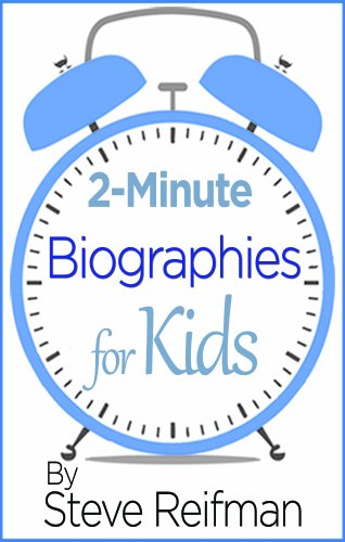 2 Minute Biographies Kids Inspirational Importance ebook product image