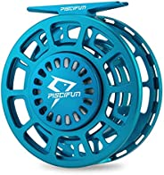 Piscifun Platte Fly Reel, Fully Sealed Drag Large Arbor Fly Fishing Reel with CNC-machined Aluminum Alloy Body