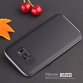 f3dcb96f0c6 Funda Samsung Galaxy S7 Edge , Ipaky Protector Samsung S7 Edge Marco Bumper  Carcasa Samsung Galaxy S7 Edge Ultra Slim Cover Case: Amazon.es: Electrónica