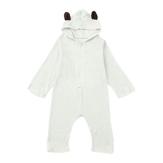 afc94c5c0 Amazon.com  Baby Boys Girls Hoodies Romper Clearance - Iuhan Newborn ...