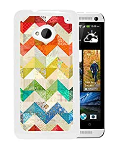 Unique Designed Kate Spade Cover Case For HTC ONE M7 White Phone Case 89