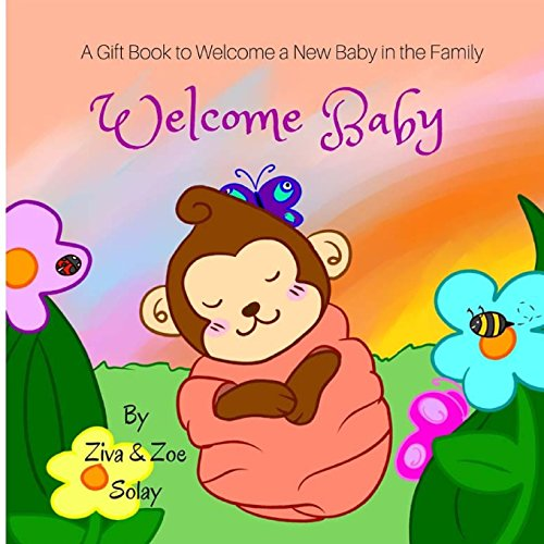 Baby personalized gifts amazon welcome baby a personalized gift book to welcome a new baby in the family negle Images