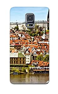 Hot TFRKGVv3375YqbZe Case Cover Protector For Galaxy S5- Prague/ Special Gift For Lovers