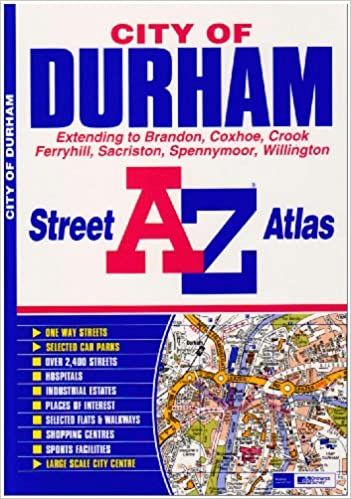 Durham Street Atlas A Z Street Atlas Amazon Co Uk Geographers