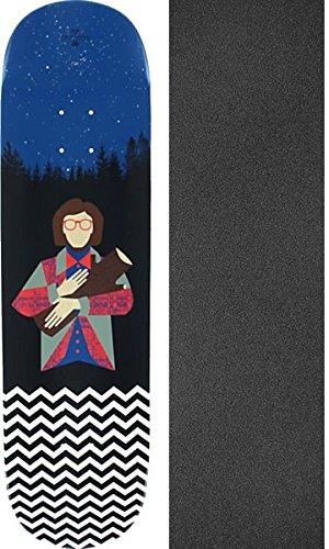 (Habitat Skateboards Twin Peaks Log Lady Skateboard Deck - 8.37