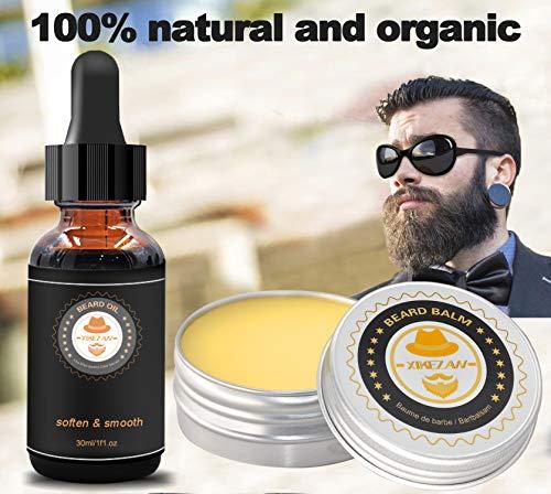 Upgraded Beard Grooming Kit w/Beard Conditioner,Beard Oil,Beard Balm,Beard Brush,Beard Shampoo/Wash,Beard Comb,Beard… 5