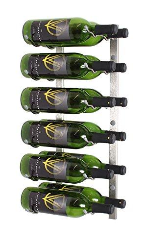 nickel wall wine rack - 8