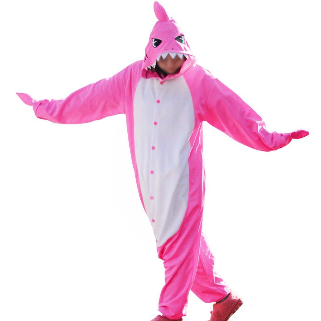 wotogold Herren Tier Shark Pyjamas Cosplay Kostüme