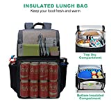 MIER Insulated Backpack Coolers - 2 in 1 Leak Proof