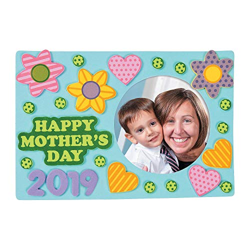 Happy Mothers Day picture frame Craft Kits - 12 sets ()