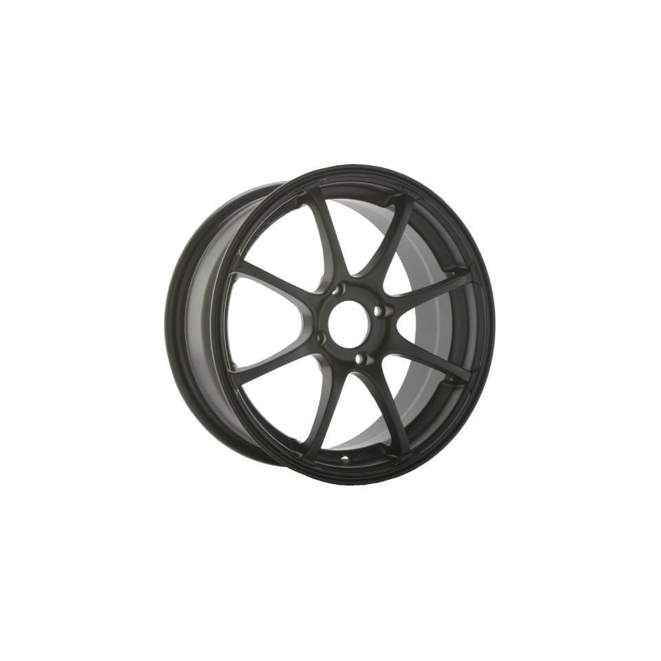 Konig Feather 17x7 Honda Acura Toyota Wheels Rims Matte Black Lip 4pc   1set