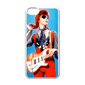 David Bowie iPhone 5c Cell Phone Case White 05Go-250373