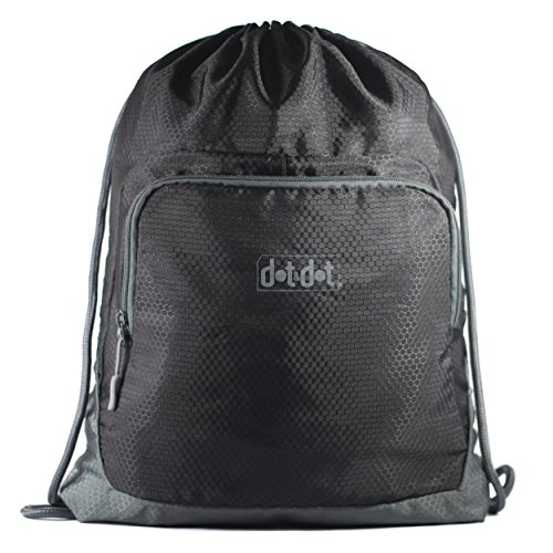 Dot Gymsack Drawstring Bag Lightweight
