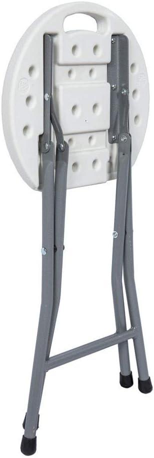 SATURNIA 8043835 Taburete Plegable 33x30x45cm