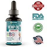 Cheap Hemp Oil Extract – 500 mg – Sleep, Mood and Pain Relief Supplement – Full Spectrum Oil for Anxiety – 100% Organic Hemp Drops – Rich in MCT Fatty Acids – Made in USA