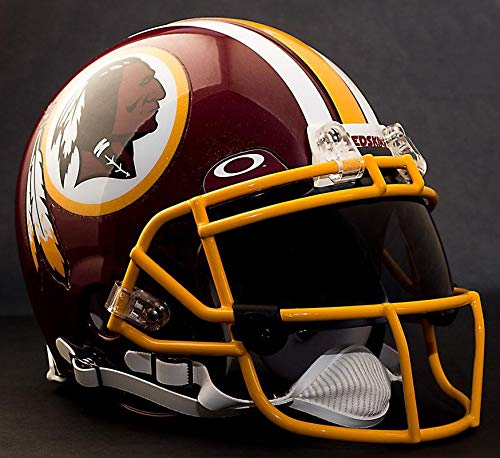 Riddell Custom Washington Redskins NFL ProLine VSR-4 Deluxe Replica Football Helmet
