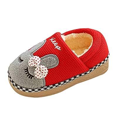 Zapatillas Casa Niña, ❤ Zolimx Zapatillas de Estar por Casa Bebe Niña Invierno Zapatos: Amazon.es: Zapatos y complementos
