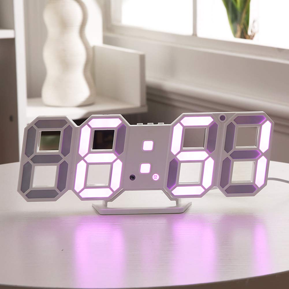 XZYP Radio Despertador Proyector, Reloj Digital De Pared Reloj ...
