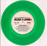 Welcome To Jamrock b/w Instrumental (Clear Green Colored Vinyl)
