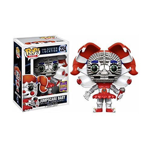 Five Nights at Freddys Sister Location Funko POP! Games Jumpscare Baby Exclusive Vinyl Figure - Fast Up Sign Email