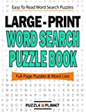 Large Print Word Search Puzzle Book: Volume 1 (Word Search Puzzle Books For Adults)