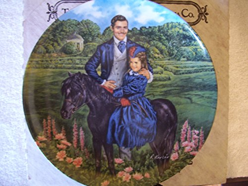 Knowles Collector Plates - 1985 Gone With The Wind Collection Plate #8 of 9 - Bonnie & Rhett (Gone With The Wind Collector Plates Knowles)