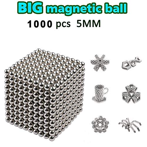DOTSOG 2019 Upgraded Ball, 5MM 1000 Pieces Sculpture Building Blocks Toys for Intelligence DIY Educational Toys& Stress Relief for Adults (1000) ()