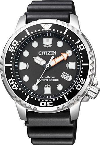 Citizen Promaster Eco-Drive Global Marine Standard Diver Men Watch BN0156-05E