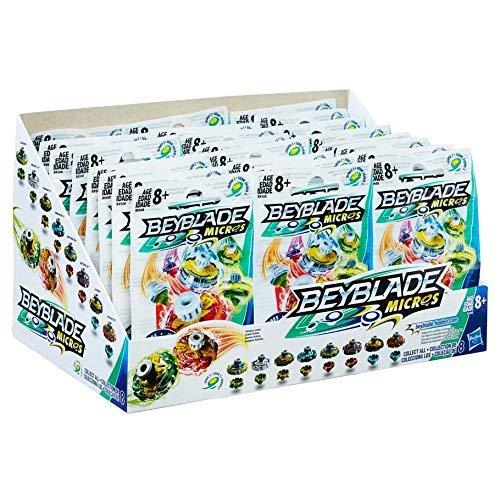 Beyblade Micros Series 1 Mini Tops Blind Bag (Case of 24) by Hasbro