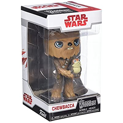 Funko Wobblers Star Wars: The Last Jedi - Chewbacca - Collectible Figure: Funko Wobbler:: Toys & Games