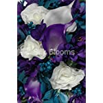 Modern-Teal-and-Purple-Calla-Lily-Freesia-Bridal-Bouquet