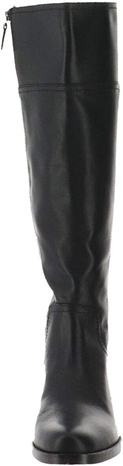 Franco Sarto Boots Capitol Black Leather 9M New A34470