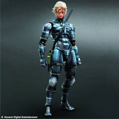 Metal Gear Solid 2, Play Arts Kai Metal Gear Solid: Raiden 11 Inch Action Figure ()