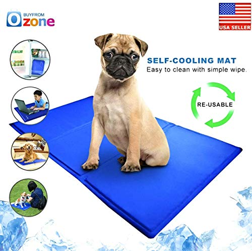Pet Cooling Mat - superb Pet Self-Cooling Mat, Non-Toxic, Water Proof (16