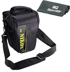 MegaGear ''Ultra Light'' Professional Camera Case Bag for Nikon D5600, D500, D610, D750, D7100, D5600, D7200, D5500, D5300, D3400, D3300, D3200 cameras