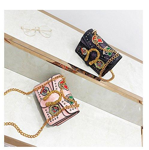 à sac Messenger sac Green à bandoulière Vintage petit de Lady Sac bandoulière serpent soirée Sac aTqXzz