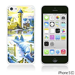 Art Paintings Hardback For SamSung Galaxy S5 Mini Case Cover - Blue Castle