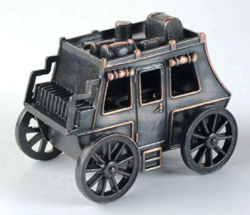 antique-stagecoach-die-cast-metal-collectible-pencil-sharpener
