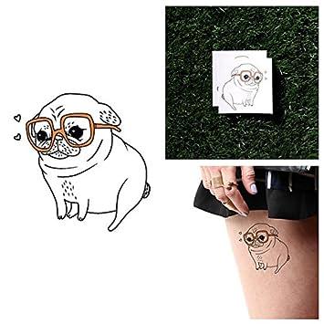 Tatuaje Temporal Tattify - Perro - Amor de Cachorros (Juego de 2 ...