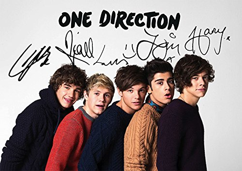 amazon com one direction 1d 11 7 x 8 3 pop music print harry