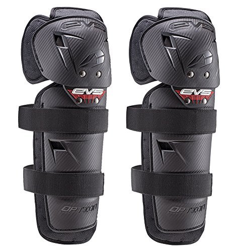 EVS 2016 Option Youth Knee Guard Off-Road Motorcycle Body Armor - Black / One Size by EVS - Option Evs Sport Motorcycle